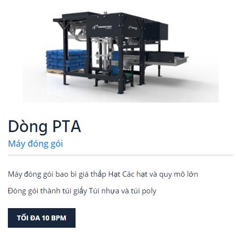 may dong goi pta